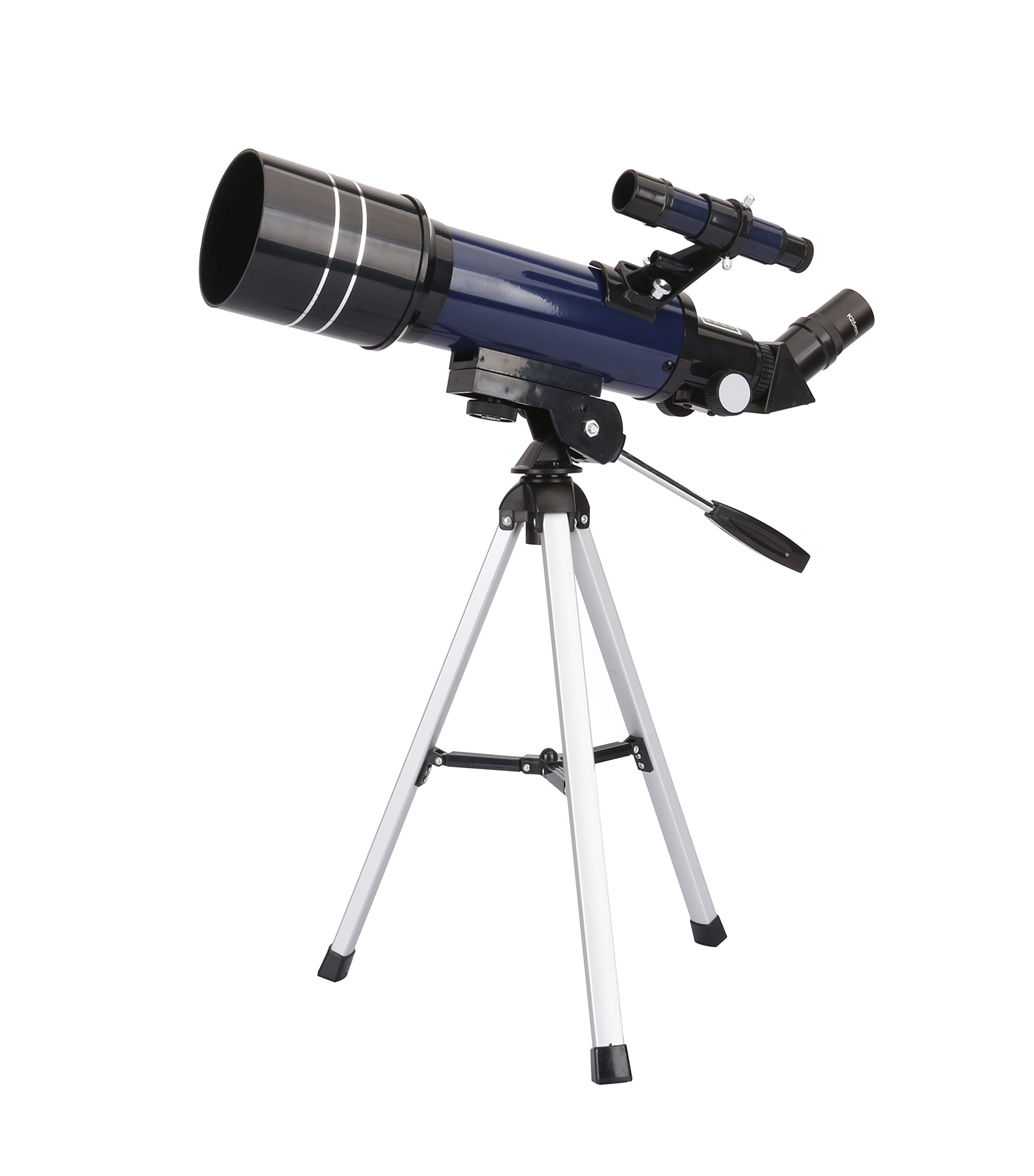 GEERTOP AZ Ultra-Clear Astronomical Refractor Tabletop Telescope With Tripod & Finder Scope, 400X70mm, For Beginner Sky Gazers & Teens