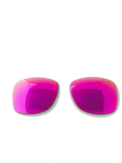 c8d6951eb813d Amazon.com  RAY-BAN RB 2140 11744T MIRROR PINK REPLACEMENT LENSES 50mm +  ShadesDaddy Glasses  Clothing