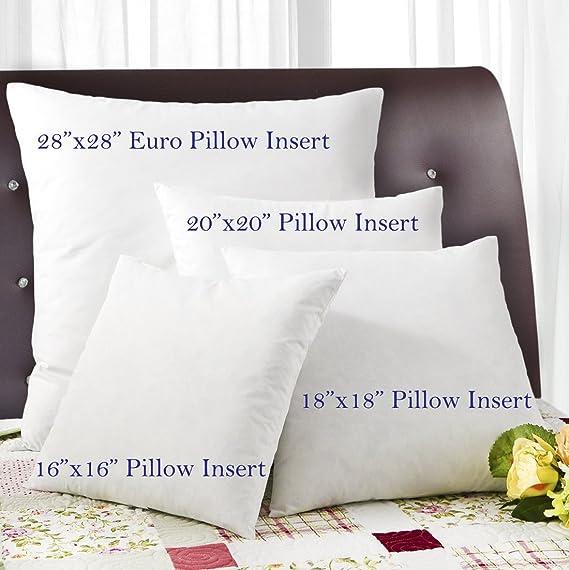 Amazon Simple Comfort Premium 40% Feather40% Down Pillow Insert Adorable 16 X 28 Pillow Insert