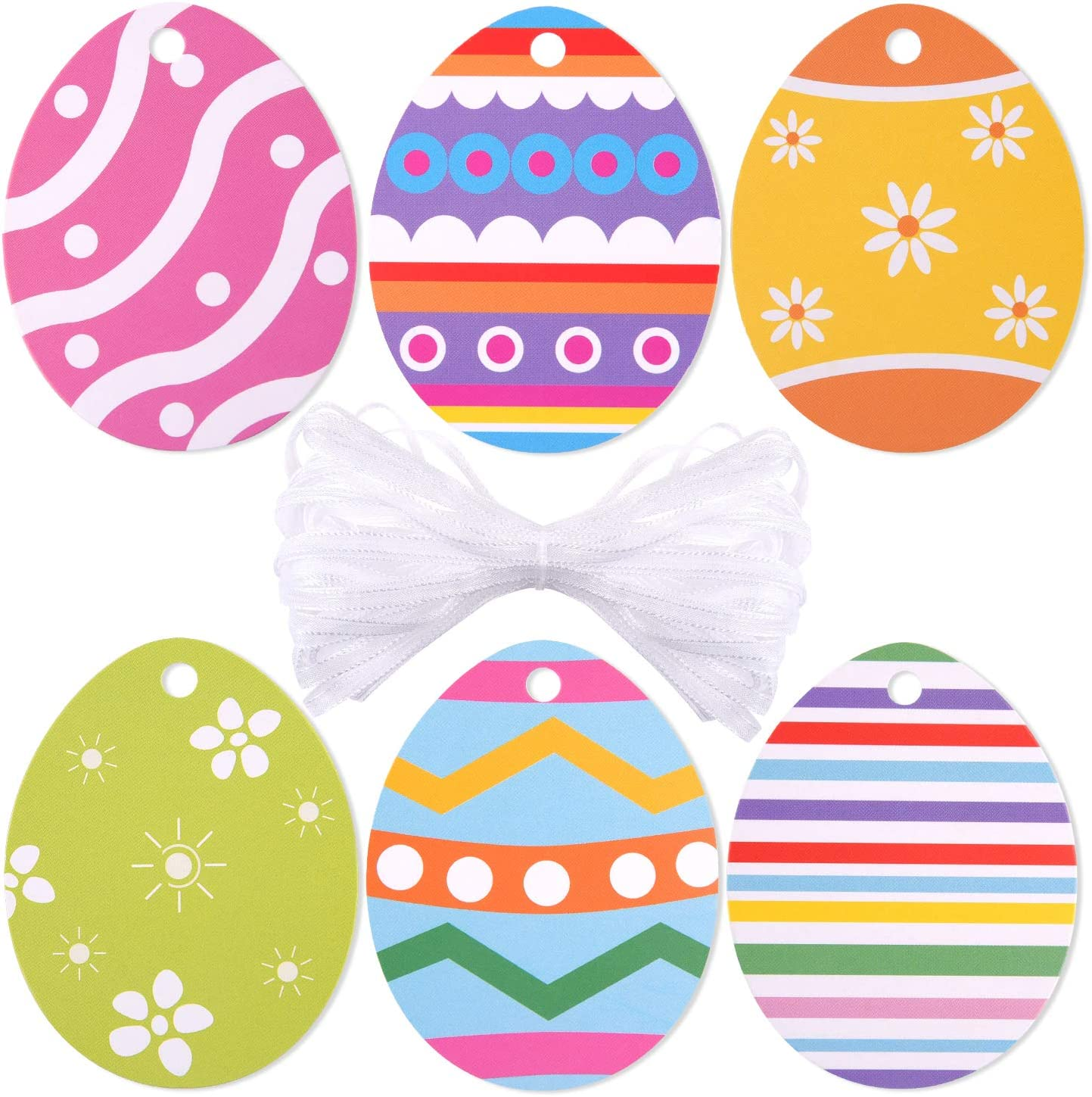- Amazon.com: TUPARKA 60 Pcs Colour Easter Egg Paper Craft With