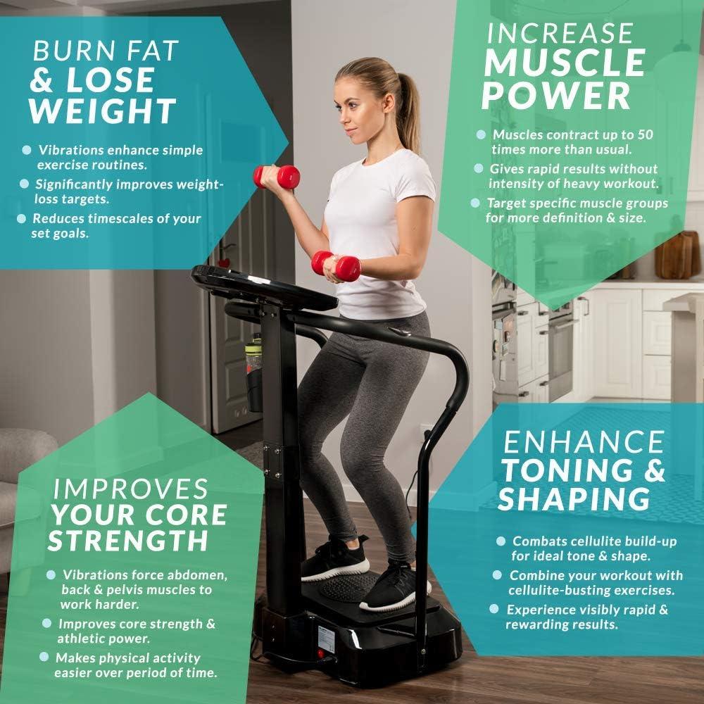 Bluefin Fitness Plataforma Vibratoria Modelo Pro