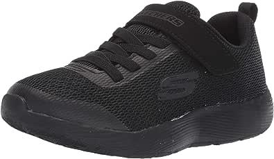 Skechers Boys' Dyna-Lite Trainers, Black (Black Royal Blue Bkry)