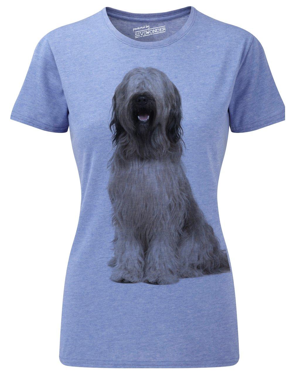 Siviwonder Women T-Shirt BRIARD Berger de Brie Hunde: Amazon.de: Bekleidung