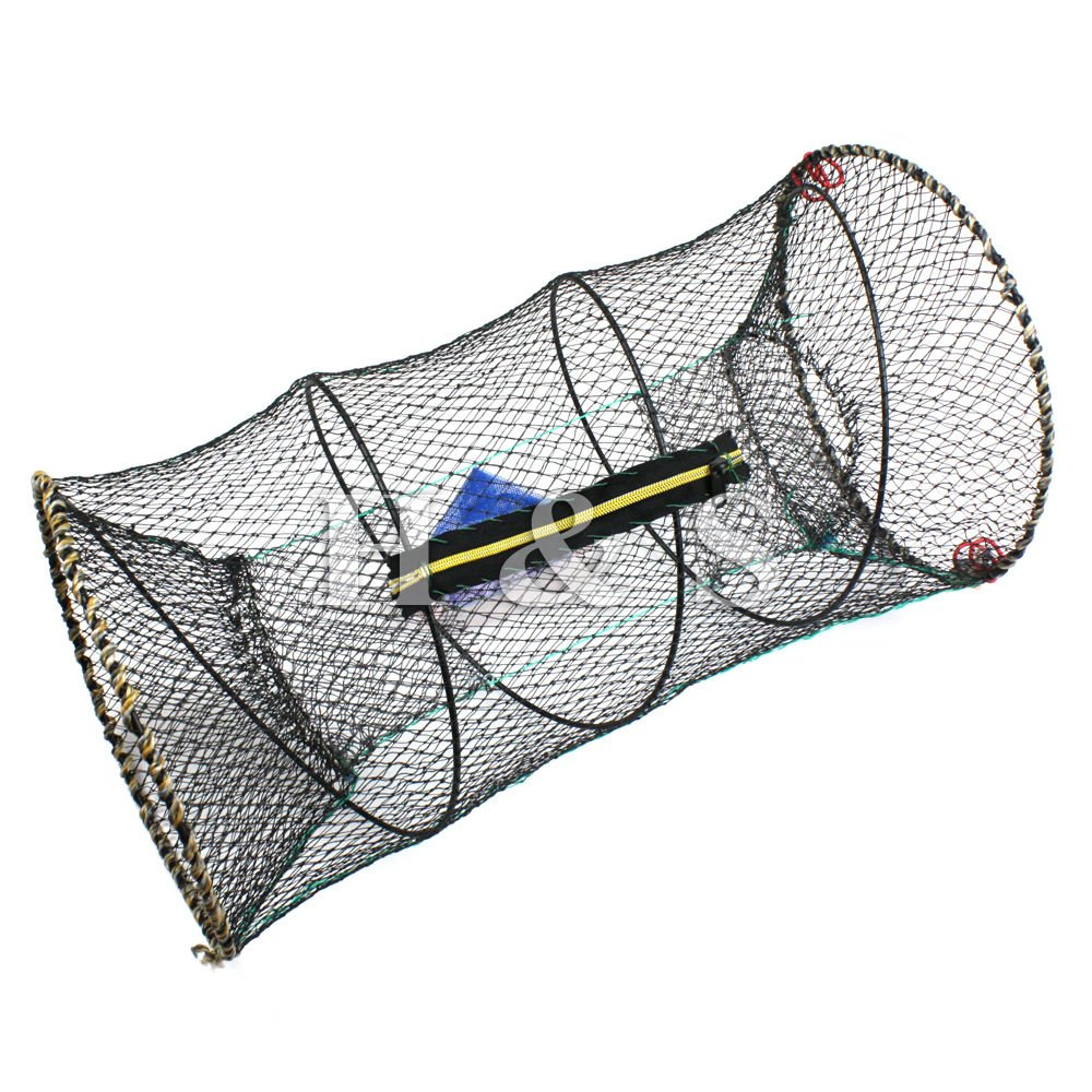 Generic Crab Fish Lobster Shrimp Prawn Eel Live Trap Net Bait Fishing Pot Cage YC_AME2_150319_181
