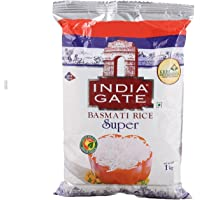 INDIA GATE Ig Super Basmati 5Kg (Pack of 1)