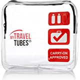 TSA Approved Clear Travel Toiletry Bag 3-1-1 Airline Carry On | Quart Sized