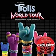 TROLLS World Tour SOUNDTRACK LIMITED EDITION EXPANDED TARGET CD THREE BONUS TRACKS & COLORING POSTER