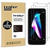iVoler [2 Unidades] Protector de Pantalla para BQ Aquaris V Plus/BQ Aquaris VS Plus, Cristal Vidrio Templado Premium
