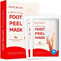 Maycreate Foot Peel Mask For Cracked Heels, Dead Skin & Calluses, Exfoliating Peeling Natural Treatment, Make Your Feet…