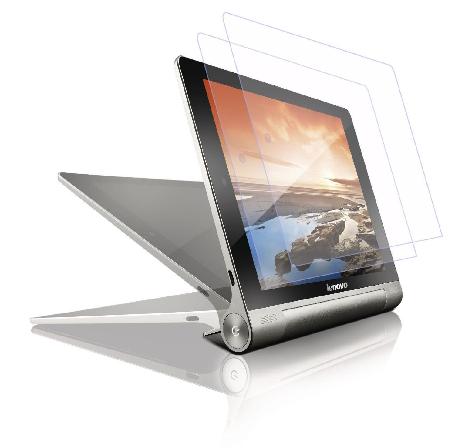 IVSO 3 Pack of Prime Protector de Pantalla para Lenovo YOGA 2 8-Inch Tablet (Clear - 3 Pack)