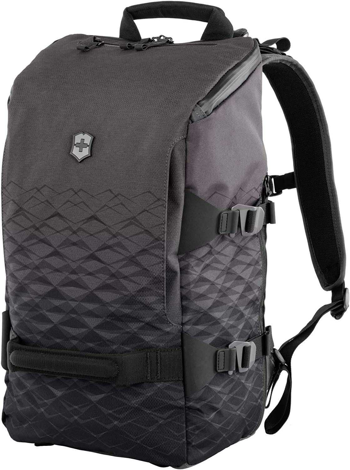 Victorinox VX Touring Everyday Backpack with Pass Thru Sleeve, Anthracite, 19.3-inch