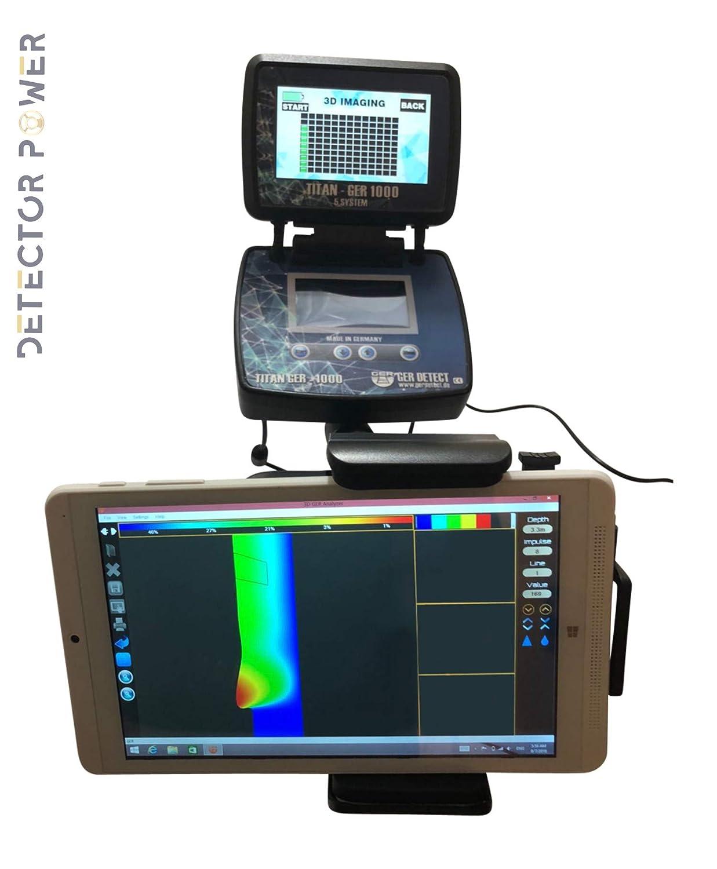 Amazon.com : GER DETECT Titan 1000 Professional Geolocator Long Range Professional Metal Detector - Underground Depth Scanner & Distance Targeting - Find ...