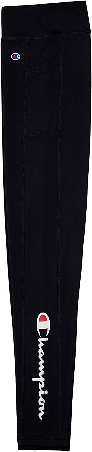 Champion Girls Heritage Stretch Active Tech Leggings with Media Pocket