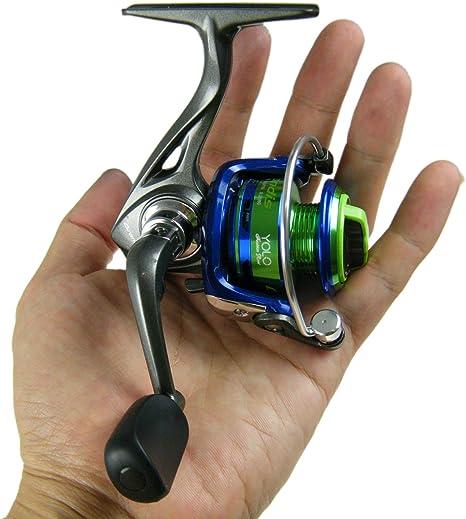 QualyQualy Grandis YOLO GD900 Alumminum Mini Spinning Reel Fishing Reels Spool Fishing Gear