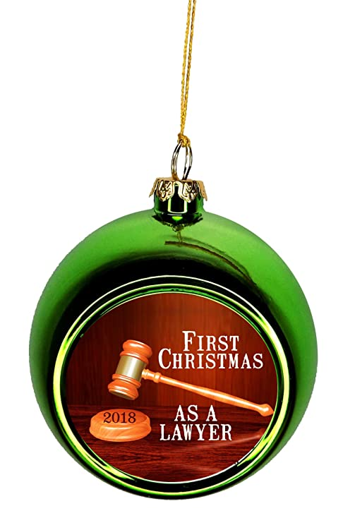 Image Unavailable - Amazon.com: Jacks Outlet First Christmas As A Lawyer 2018 Ornaments