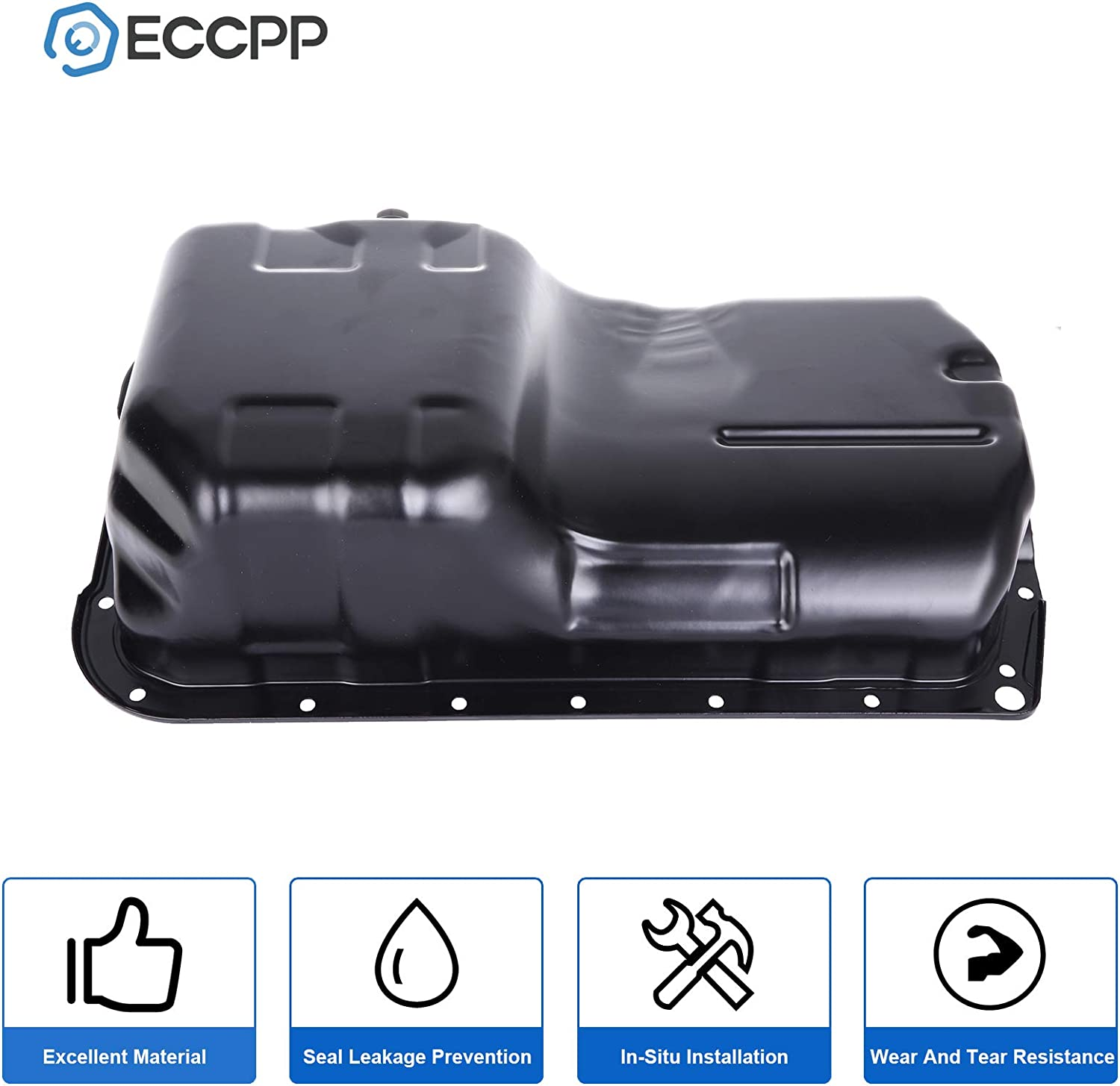 ECCPP Engine Oil Pan Drain Plug Kit fit for 98 99 00 01 02 Honda Accord Acura CL Honda Odyssey L4 2.3L Cummins Diesel Compatible with 264-406