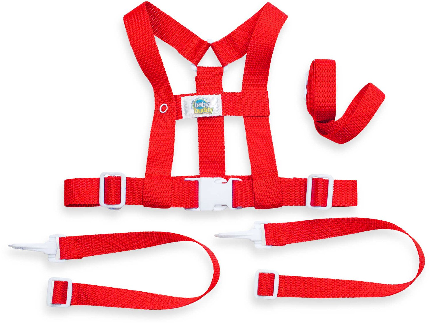 Baby Buddy Deluxe Security Harness, Red Compac Industries 00172R