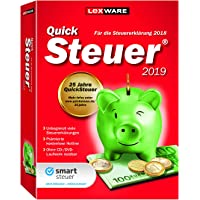 Lexware QuickSteuer 2019|in frustfreier Verpackung|Einfache und schnelle Steuererklärungs-Software für Arbeitnehmer, Familien, Vermieter, Studenten und Rentner|Kompatibel mit Windows 7 o. aktueller