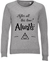 sweat shirts femme harry potter after all this time always v tements et accessoires. Black Bedroom Furniture Sets. Home Design Ideas