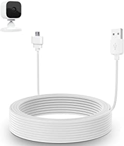 30ft/9m Charger Cable for Blink Mini, Power Extension USB Cable Compatible with Blink Mini Indoor Plug-in Camera Extension Cable(Blink Mini Camera is not Include)
