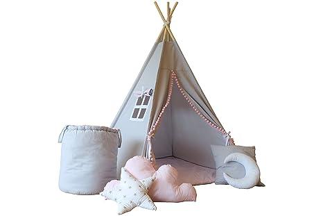 Straordinaria tenda tipi tenda per bambini grande set di pezzi