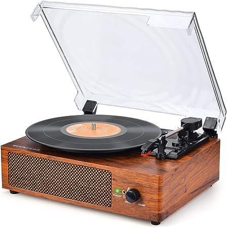 Plattenspieler mit Lautsprecher Plattenspieler: Amazon.de: Elektronik