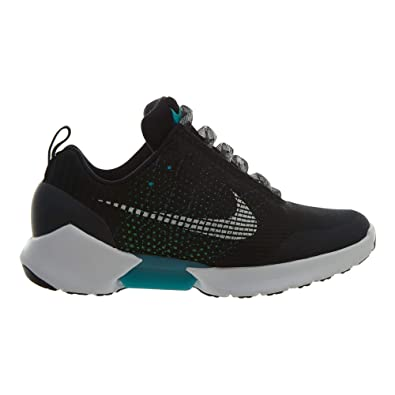 4d1f4c5f72385 Amazon.com | Nike Mens Hyper Adapt 1.0 Black/White-Blue Lagoon Mesh |  Fashion Sneakers