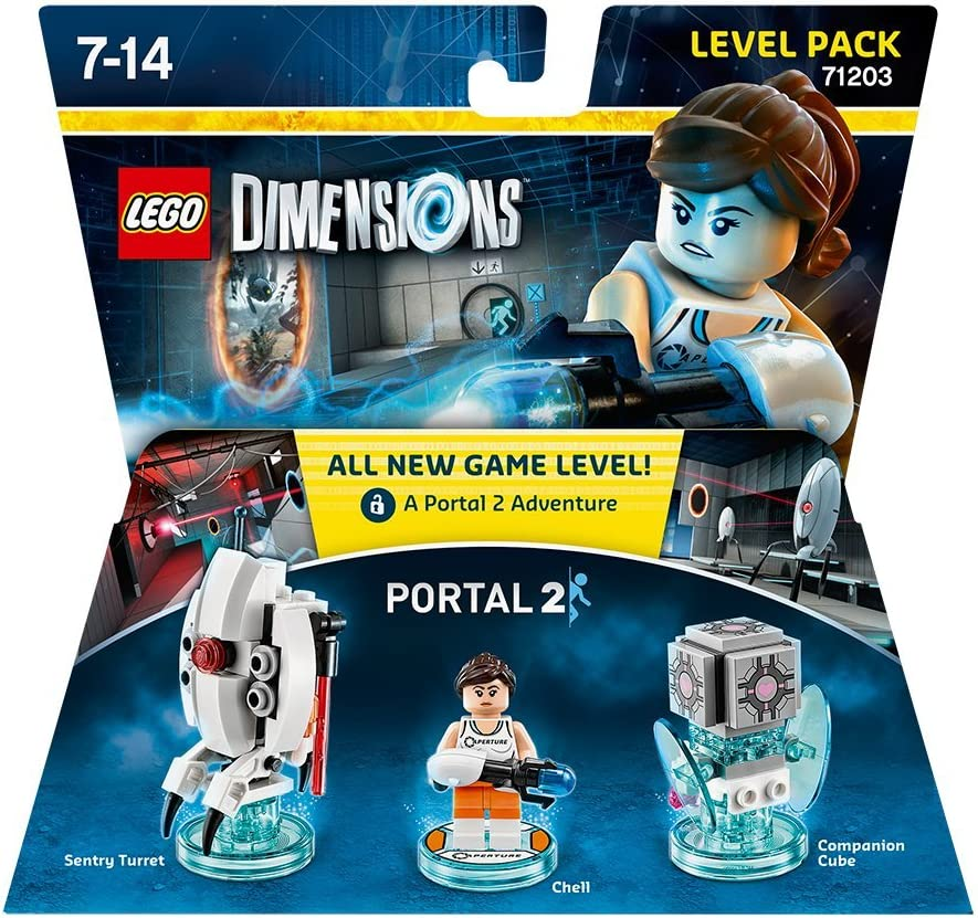 Warner Bros Interactive Spain Lego Dimensions - Portal 2, Chell: Amazon.es: Videojuegos