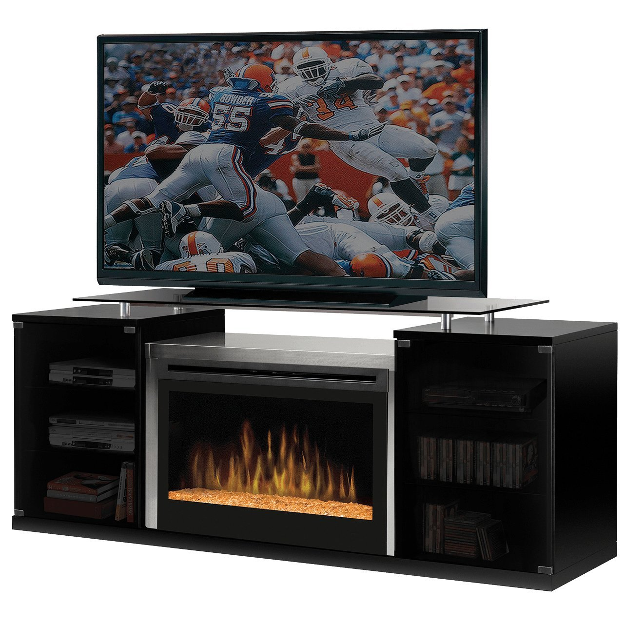 Amazon.com: Dimplex Marana TV Stand with Electric Fireplace in ...