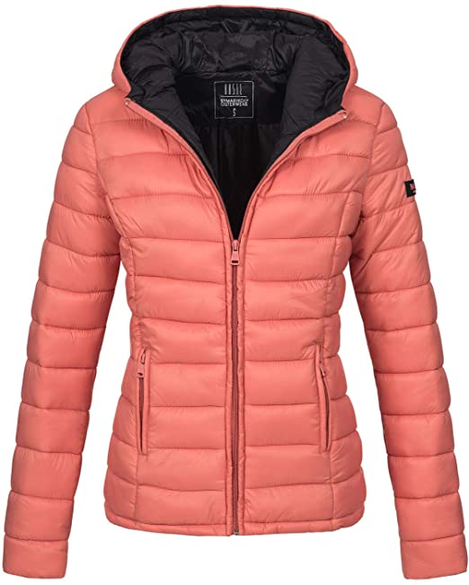 100% authentic 354ff e768e Marikoo Damen Jacke Steppjacke Herbst Winter Übergangsjacke gesteppt B651