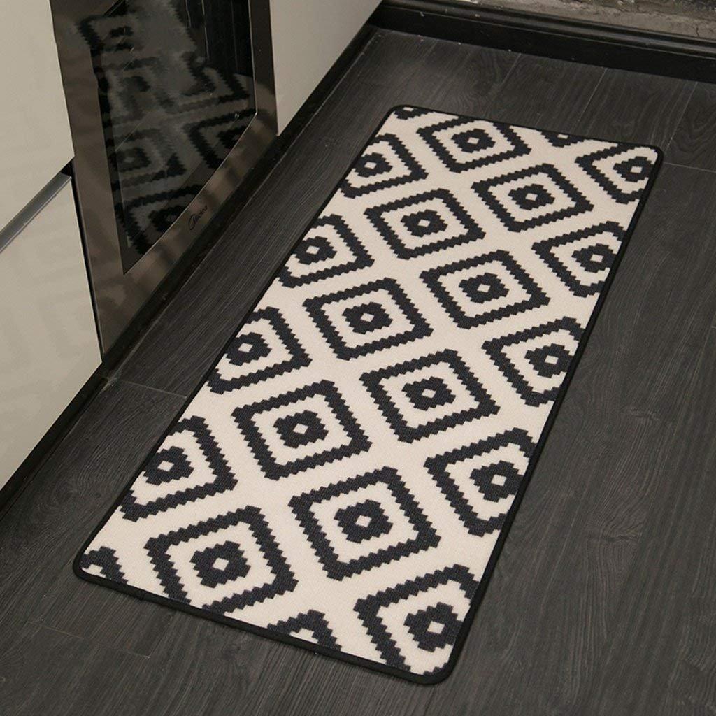 X10 XX Alfombra Nylon Mats Dormitorio colchones Colchones Long Mats/Mats / Entrance Door Mats,80 * 50 cm + 120 * 50 cm