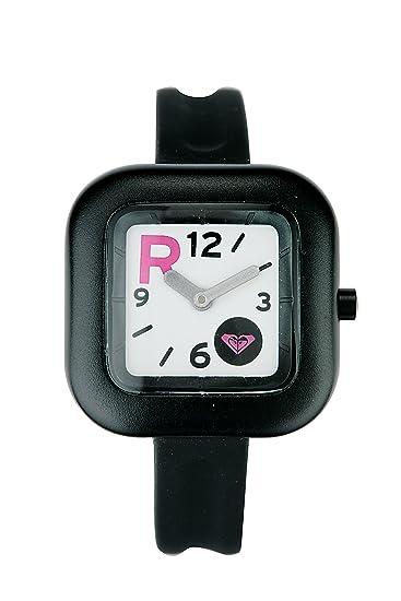 Roxy Kate - Reloj de mujer de cuarzo, correa de goma color negro