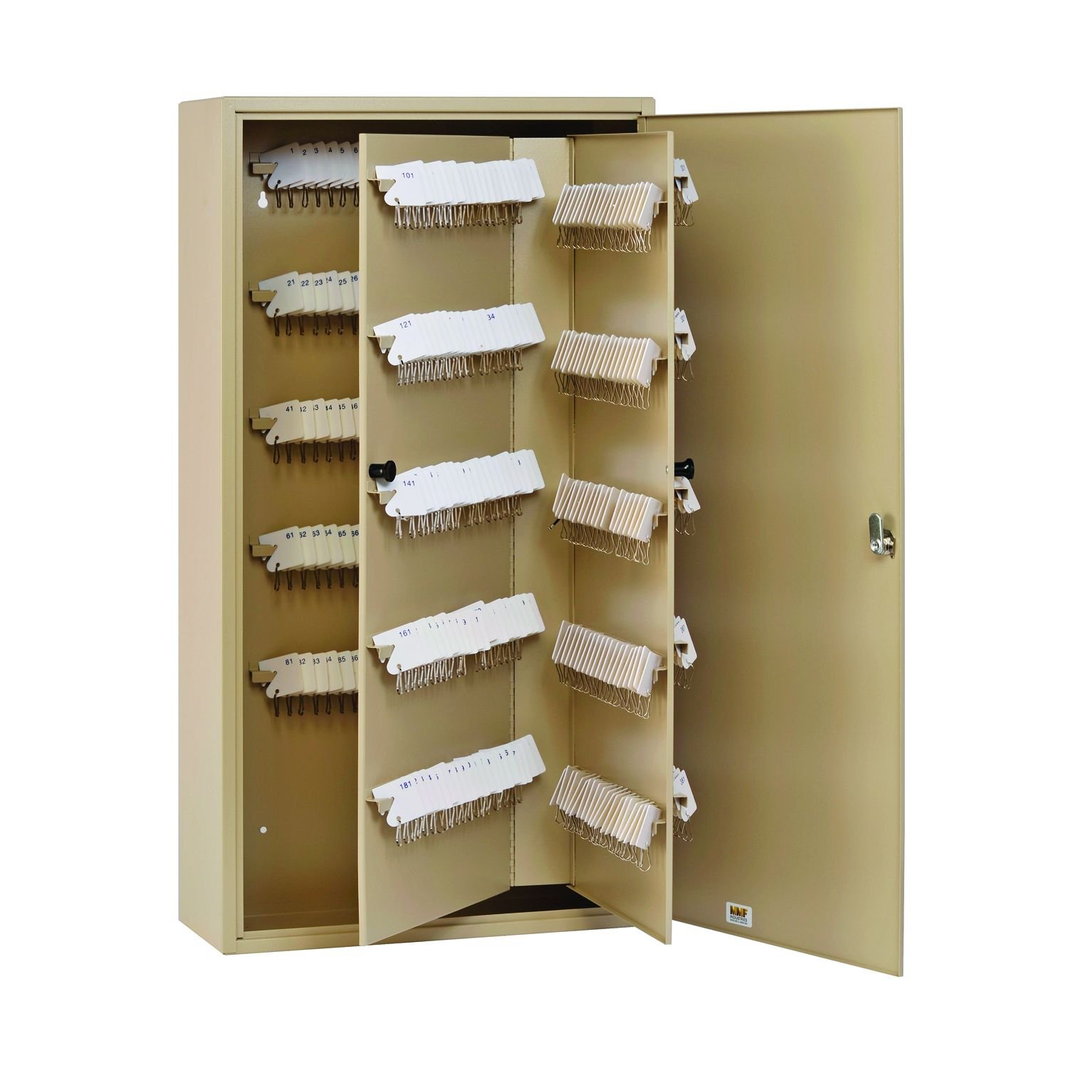16.5 x 20.13 x 4.88 Inches Sand STEELMASTER Unitag Locking 240-Key Cabinet 201924003