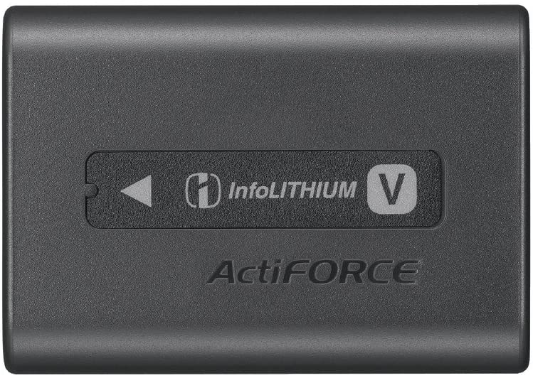 Sony NP-FV70A V-Series Rechargeable Digital Camera Battery Pack, Black : Camera & Photo