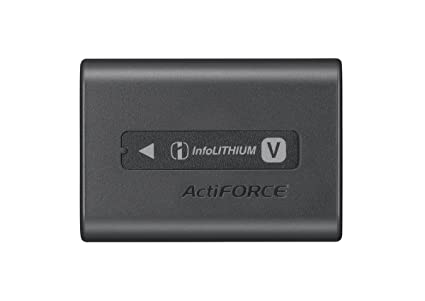 Review Sony NP-FV70A V-Series Rechargeable Digital Camera Battery Pack, Black