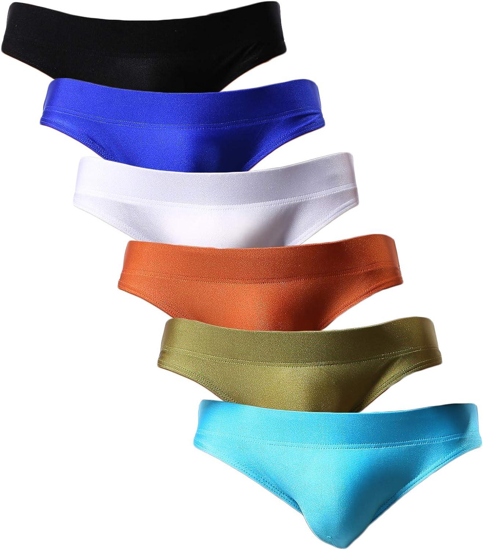 YuKaiChen Men's Briefs Low Rise Bikini Underwear Bulge Enhancing