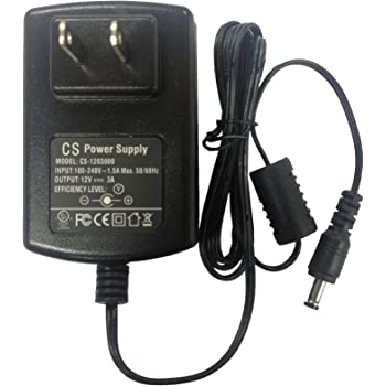 Amazon Com 110v 220v Ac To Dc 12v 5a 5000am Adapter
