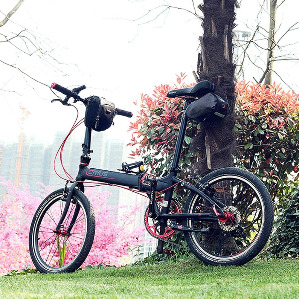 Bolsa almacenamiento scooter, bolsas manillar bicicleta: grano ...