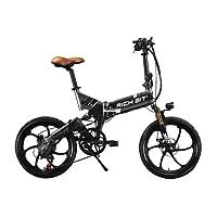 RICH BIT® RT730 Vélos électriques velo assistance electrique e bike frein a disque Shimano 7 Vitesses 20 pouces vtt