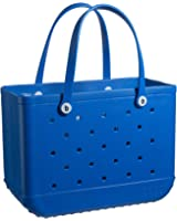 BOGG BAG X Large Waterproof Washable Tip Proof Durable Open Tote Bag for the Beach Boat Pool Sports 19x15x9.5