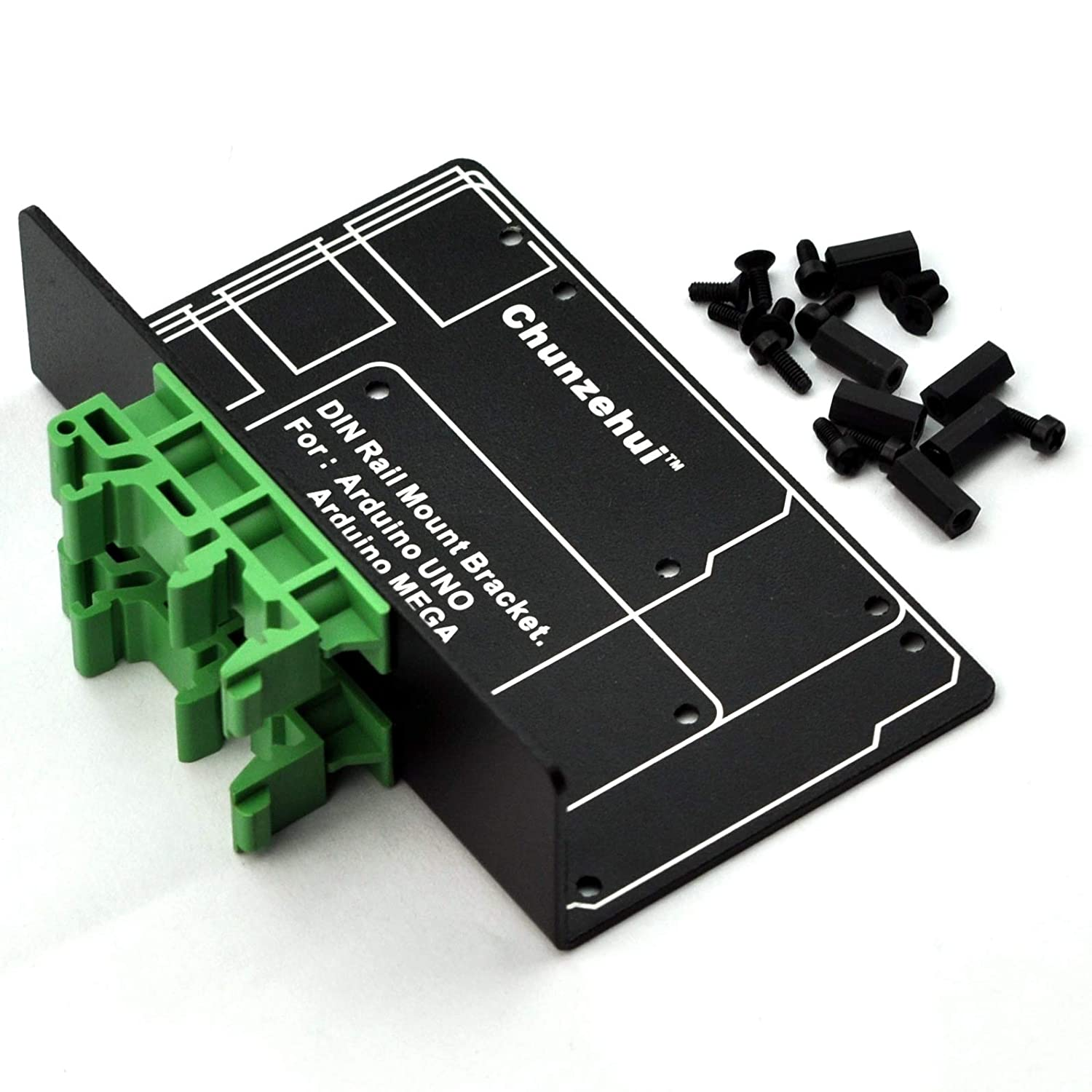 2 inch New 20 Set DIN Rail Mounting Standoff Brackets Set High Angled