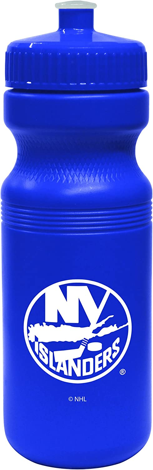 NHL New York Islanders Opaque Squeeze Water Bottle, 24-Ounce