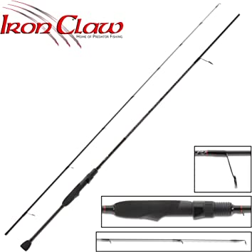 Iron Claw Caña High-V S-661UL 1,98 m 0,5-6 g: Amazon.es: Deportes ...