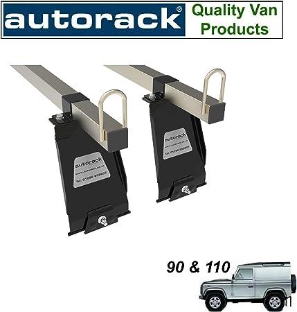 Dachträger Für Land Rover Defender 90 Und 110 2 Stangen Autorack Konstruktionsqualität Strapazierfähig Auto