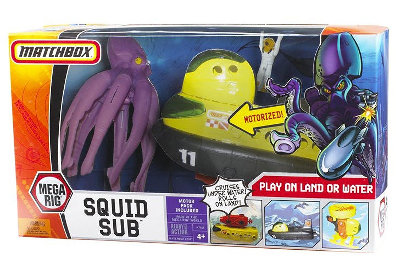 Mattel K9582 - Submarino de juguete con pulpo gigante, color amarillo: Amazon.es: Juguetes y juegos