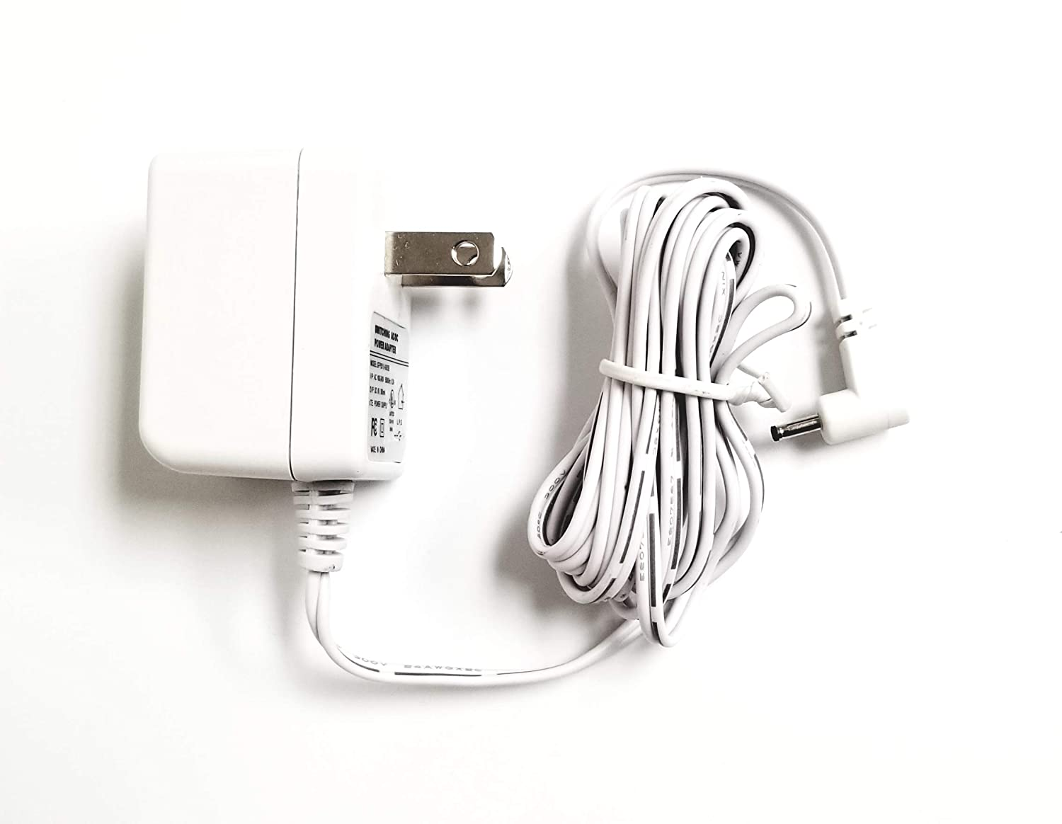 Shira Ac Power Adapter Charger BARREL PLUG STYLE ONLY for Motorola Video Baby Monitor Mbp18 Mbp25 Mbp26 mbp27t MBP33 MBP36 Mbp34 Mbp35 Mbp41 Mbp43 FOR THE PARENT UNIT ONLY WHITE Shira TM
