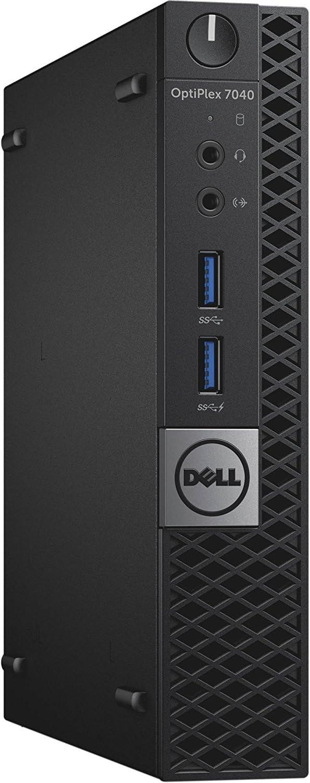 Dell Optiplex 7040 Micro Tower Business Computer (Intel Core i5-6500T, 8GB DDR4, 256GB SSD, WiFi) Windows 10 Pro (Certified Refurbished)