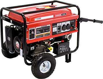 Mader Power Tools Generador Gasolina 7, 0 KVA con 16Hp C/Inicio Electrico: Amazon.es: Jardín