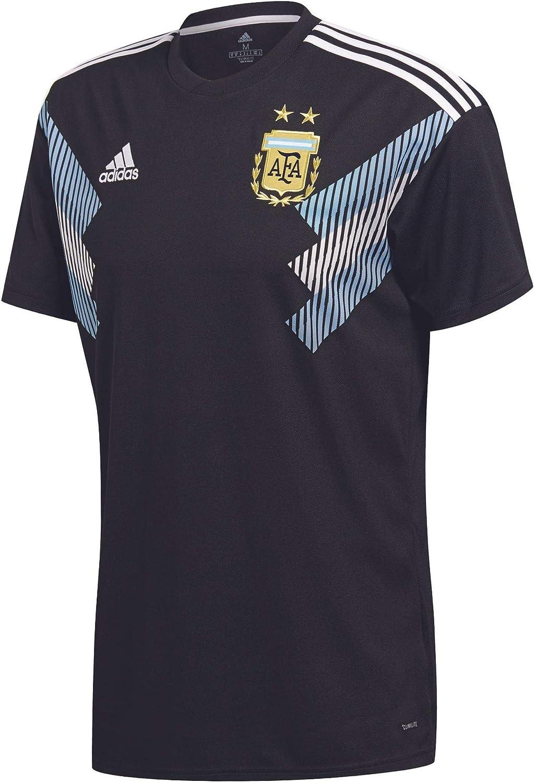 adidas 2018-2019 Argentina Away Football Soccer T-Shirt Jersey (Kids)