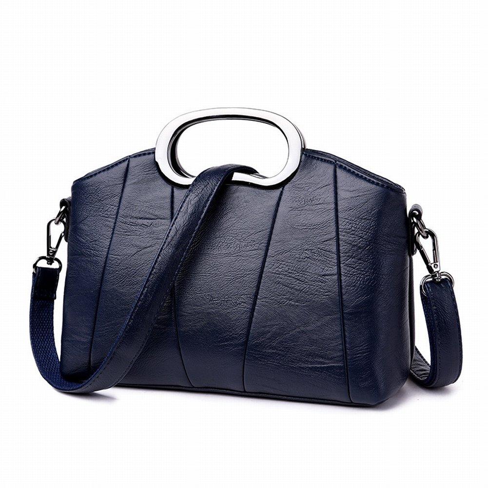 Mutter Handtasche Weibliche Allgleiches Schulter Messenger Tasche aus Weichem Leder Handtasche Handtasche , blau